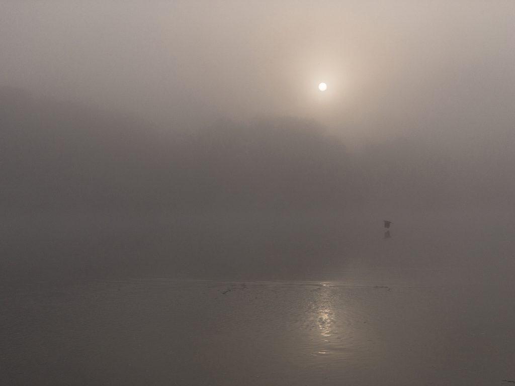 Monet impressionné par les brumes de Loire © Gilles Crampes