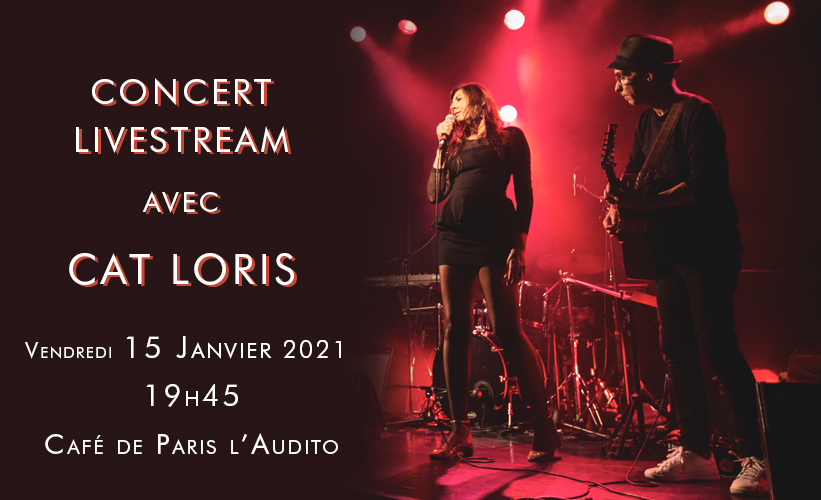 Paul Galiana accompagne Cat Loris au Café de Paris l'Audito - 15 Janvier 2021 - 19h45 © Marylène Eytier